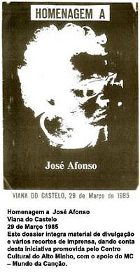 Homenagem a José Afonso
