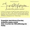 Convite Exposição José Afonso