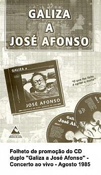 Galiza a José Afonso